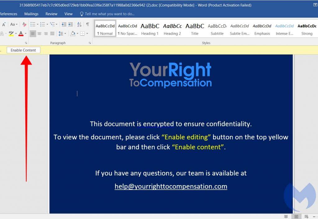OceanLotus hackers injecting malware in Windows error report