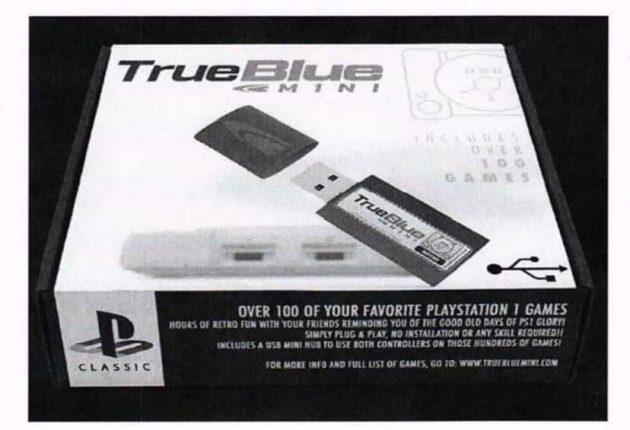 Jailbroken TrueBlue Mini offered by Team Xecuter