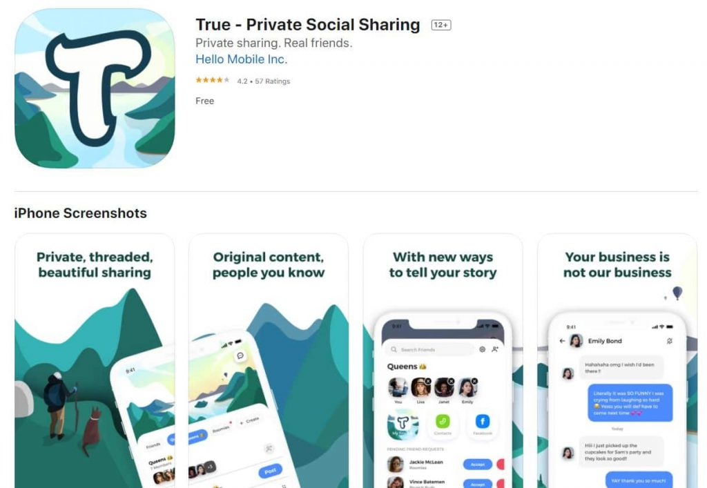 Privacy-Centric True Social Network Exposed User Data Online