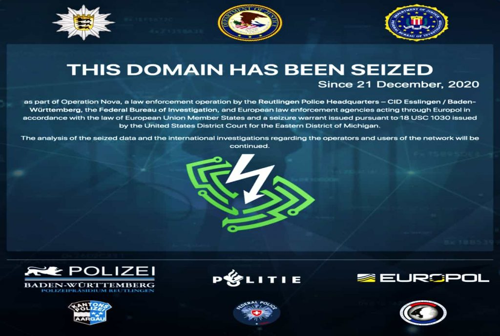 Feds seize VPN service used by hackers in ransomware attacks
