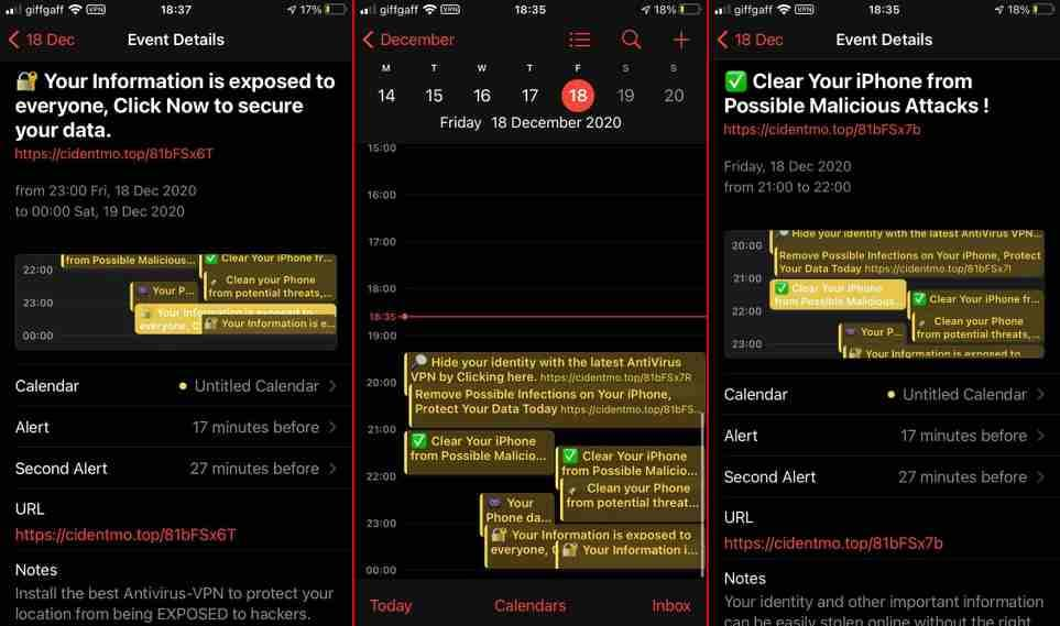 iPhone Calendar Events spam is back: Here's how to get rid of it