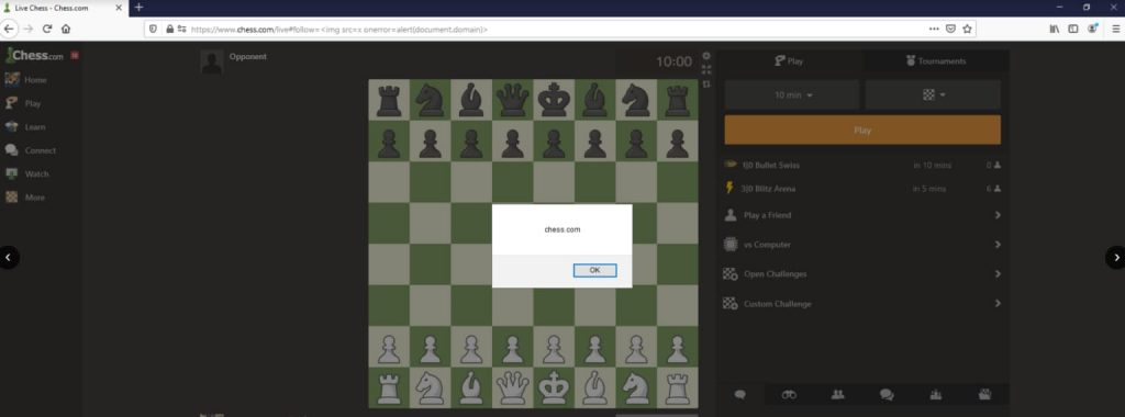 """An IT security researcher identified a critical bug in the API of Chess.com; an immensely popular online chess playing site and app. The bug could have been exploited to access any account on the site. It could also be used to gain full access to the site through its admin panel. About Chess.com Chess.com is a huge platform for chess players with hundreds of thousands of players playing at any given time. The website hosts tens of millions of games per day. This shows that the site has a huge number of users and it is a very important place for chess fans. What Happened? Cybersecurity researcher Sam Curry spent a lot of time finding vulnerabilities in Chess.com. The researcher started with finding generic vulnerabilities and stumbled upon a reflected XSS that could be exploited to drop backdoor to gain access to a victim's account. An attacker could also extract the """"Connect to Google"""" URL and authenticate it with their own account and use an XSS hook and HTTP request that could bind a victim's chess.com account to the attacker's account. The """"Account Takeover Vulnerability"""", as explained by the researcher, was found when the subdomain for the API was found; """"api.chess.com"""". The researcher intercepted the HTTP traffic and noticed the API requests coming from this domain while using the app. The requests from the app to the API were signed and could not be tampered with easily but when the researcher searched a username for the purpose of sending a message. A request was sent to fetch the user's information. This information contained the email address of the user. This makes it a vulnerability with medium severity. However, the actual vulnerability was the returned """"session_id"""" as this was unique to each user and the session on the researcher's computer. It was the authorization token that could let the researcher hijack any session. For further confirmation, the researcher hijacked the account of one of Chess.com's administrators Daniel Rensch and was able to acces"""