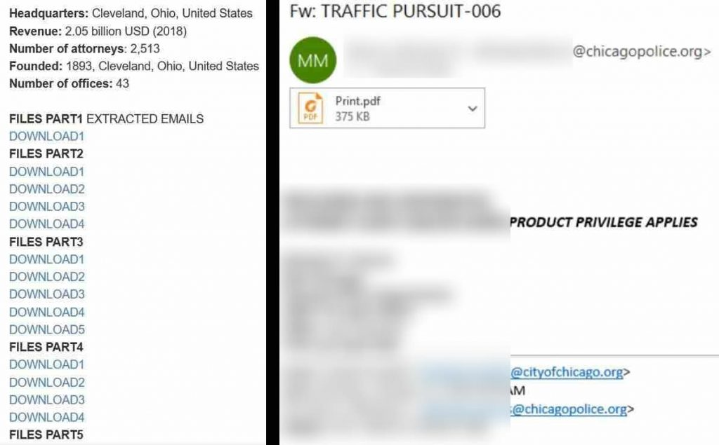 Clop ransomware gang leak sensitive Jones Day files on dark web