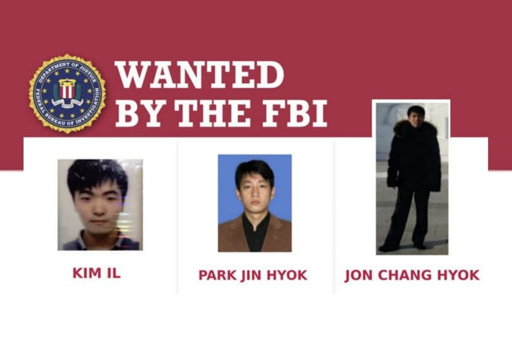 US charges 3 North Korean programmers for extorting $1.3+ billion