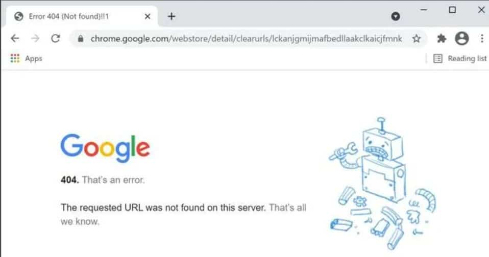 Google removes ClearURLs Chrome extension from its store