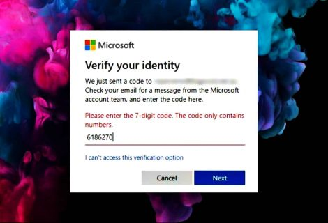 Flaw allowed bypassing verification code, log in to any Microsoft account