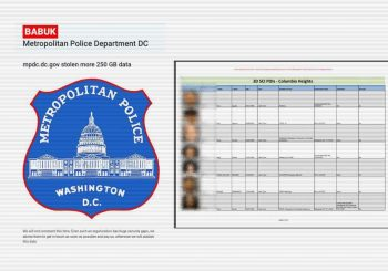 D.C. Police Department suffers ransomware attack