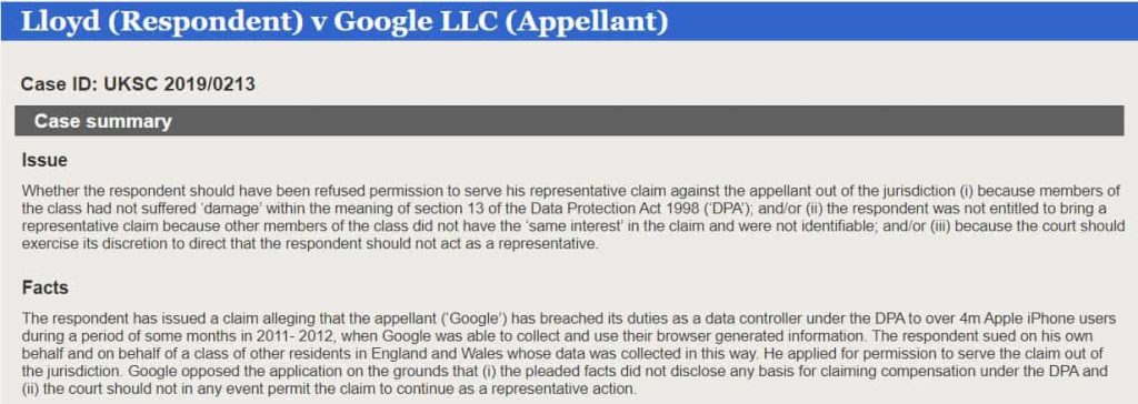 $4 billion lawsuit claims Google tracked iPhone users activities
