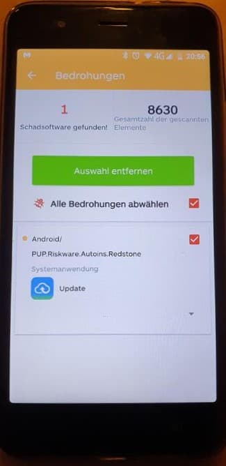Pre-installed malware in Gigaset smartphones