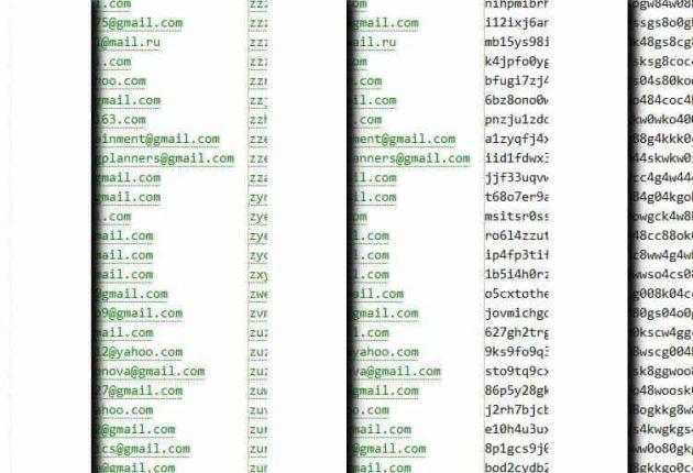 Screenshot from the leaked WedMeGood data (Image credit: Hackread.com)