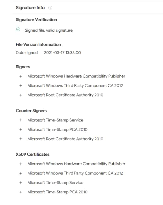 Microsoft signed a driver called Netfilter, turns out it contained malware