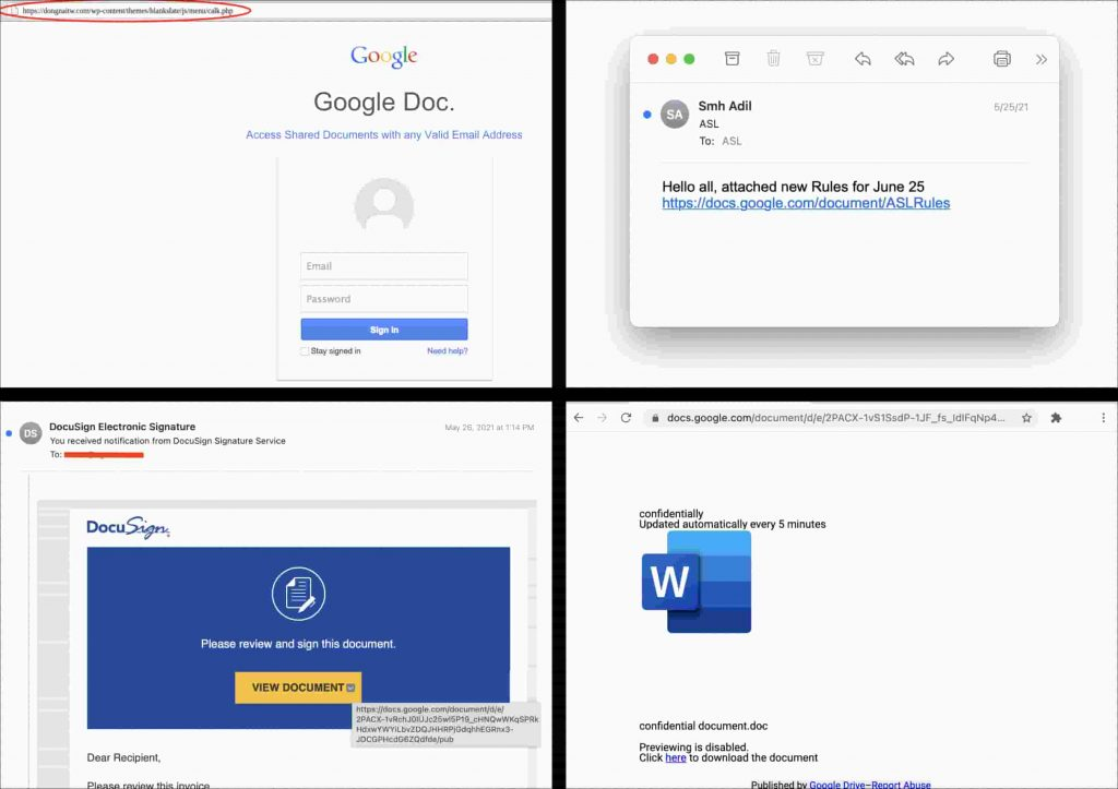 Threat actors using Google Docs exploit to spread phishing links