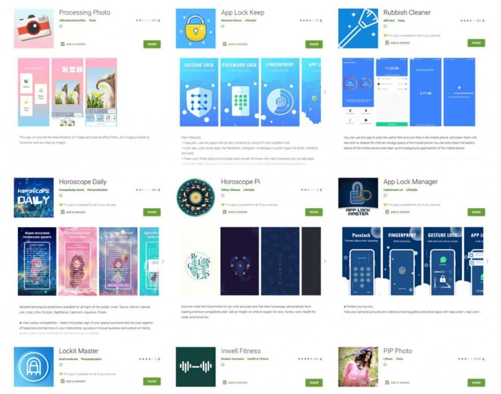 9 apps with 6M installs stole Facebook logins of Android users