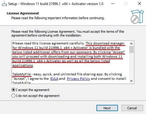 Fake Windows 11 installers infecting devices with adware, malware