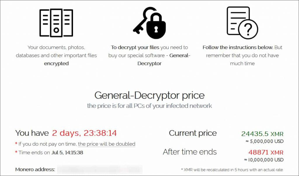 REvil Ransomware targets 1000+ business causing holiday havoc