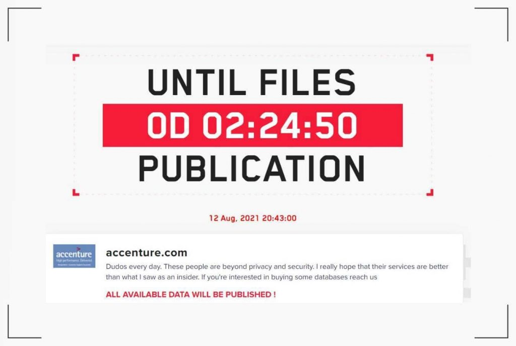 IT giant Accenture fights off LockBit Ransomware Gang using backup