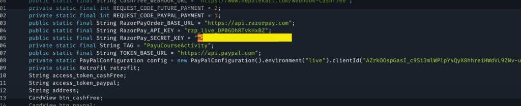 Millions impacted as payment API vulnerbilities exposing transaction keys